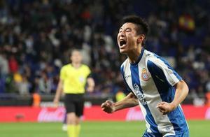 西班牙人评分:武磊漂亮进球仅排名第4,他给武磊助攻队内最高分
