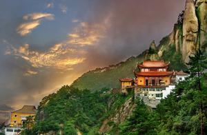 安徽九华山:东南第一山