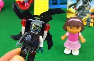 爱探险的朵拉拼装能量英雄积木玩具-奥创