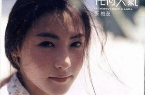 张柏芝12岁清丽脱俗,怪不得她颜值那么高