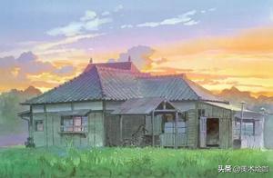 宫崎骏动漫里的最美景致又又又吸引了我,我的天啊,美炸了