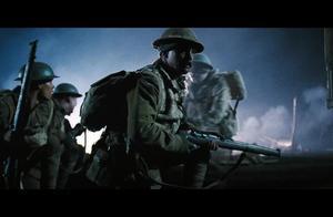 相当惨烈的一战经典大片,德军狂轰澳军,场面火爆逼真