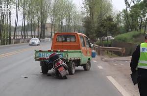 """江山一司机忘拉手刹,车辆进入""""无人驾驶""""模式造成交通事故"""