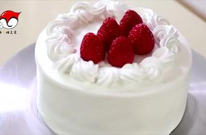 草莓奶油蛋糕的做法5分极速11选5图,怎么做