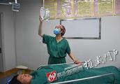 辛勤的汗水化成凌空的彩虹——记通道县第一人民医院手术室护士杨光年