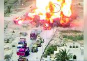 可怕!实拍汽车炸弹爆炸瞬间 巨大的火团把人炸上天