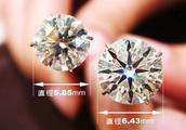 2克拉钻石比1克拉钻石大多少