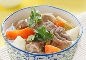 熟羊头肉炖萝卜