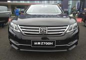 众泰Z700H现车实拍 售价10.58-16.58万元