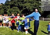 MJ建立世界最大的儿童基金会,与他的父亲有着很大关系