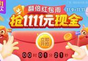 随手记理财双11狂欢:1111元红包、2亿元理财金尽情送