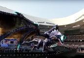 英雄联盟S7总决赛鸟巢开闭幕式表演,那条AR远古巨龙太帅了