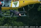 贝爷直升机高空跳水,太惊险,还是花式的!