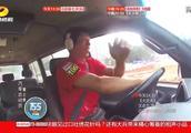 老司机驾驶上海汇众 这么长的车身50秒出孤岛 这技术我服