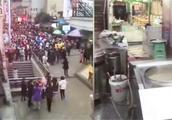 尴尬!重庆地震食客借机逃单 饭店老板无奈苦笑