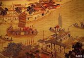 """北宋都城汴京被称为""""四水贯都"""",其中一河运天下一半之财物入京"""