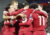 利物浦七球大胜,挺进欧冠16强