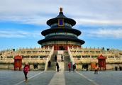 没有雾霾的北京 不到天坛 不知道自己有多小