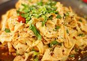 豆腐皮最好吃的做法,简单易上手,刚上桌就被吃光