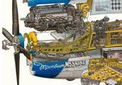 星球大战系的飞船,带你领略机械解刨师的强大功力