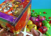 奇趣蛋玩具视频 芭比娃娃惊喜蛋 闪电麦昆小黄人出奇蛋