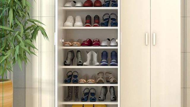 鞋柜放鞋的高度一般是多高的?也就是层板之间的高度