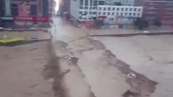陕西绥德洪灾已致多少万人受灾?
