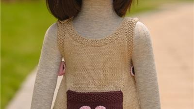 如何编织婴儿连衣裙?