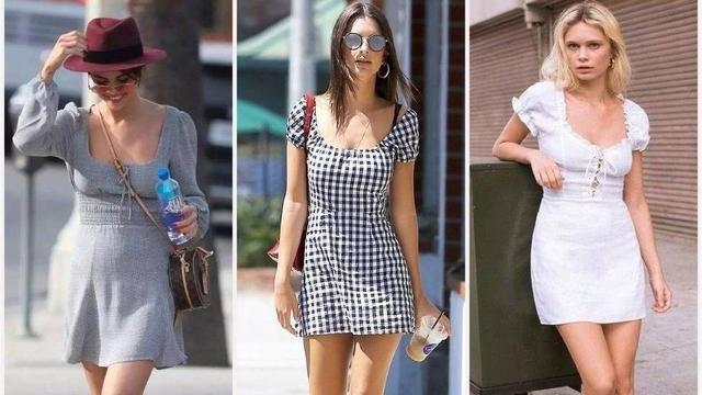矮个子女生适合穿连衣裙吗?