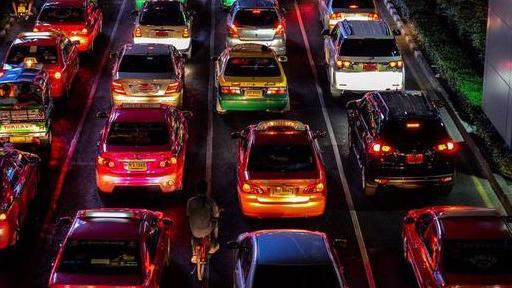 曼谷出租车上看到了不该看的东西,谁知道是什么?