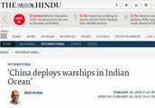 中国庞大舰队驶向马尔代夫?原来印度海军有大动作