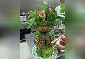 怎么雕刻西瓜盅,西瓜盅的家常做法