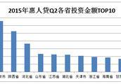 惠人贷各省数据出炉 中西部地区互联网金融崛起