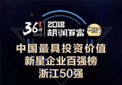 """""""2018胡润百富""""中国最具投资价值浙江50强揭晓 微拍堂上榜"""