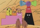 巴巴爸爸3:巴巴全家在森林里组成的超级大喇叭,好霸气哦