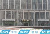 云联惠黄明等人涉嫌组织传销犯罪被调查 现场警车戒备
