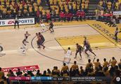 NBALIVE18 季后赛模拟 西决 第3场 火箭VS勇士 最后时刻