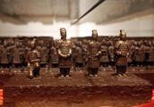 巧克力味的兵马俑你见过吗?1500公斤巧克力艺术品亮相西安