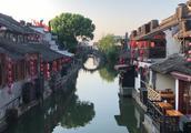 安静的西塘古镇,小桥流水,江南水乡