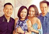 张学友赴台湾宣传演唱会,和好友庾澄庆小聚,哈林带老婆一同现身