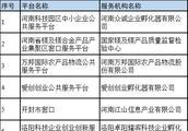 河南中小企业公共服务平台考核结果公示,50家机构入选