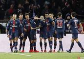 法甲 第29轮 巴黎圣日耳曼狂胜马赛