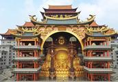 花费20亿佛像重600吨 广西版布达拉宫