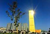 """中国最大的""""金条"""",高200米,投资15亿,顶楼可停放直升机!!"""