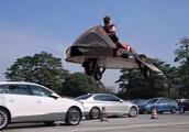 """厉害了!中国发明""""飞行摩托车"""", 低空可飞行10公里"""