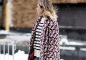 尖头高跟鞋怎么搭配冬天的衣服