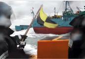韩国海警扣押两艘涉非法捕捞的中国渔船
