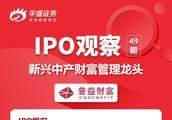 IPO观察 | 一图看懂新兴中产财富管理龙头——普益财富