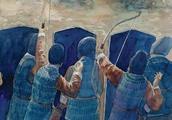 古人的盾牌上为何常画诡异的图案?也许他们觉得敌人能被吓退……