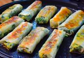 懒人版韭菜盒子,冷天做最合适,外酥馅鲜,做20个一个人都能吃完